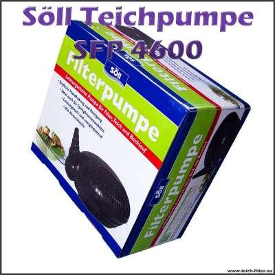 Teichpumpe SFP 4600 Söll für Teichfilter bis 30000 Liter