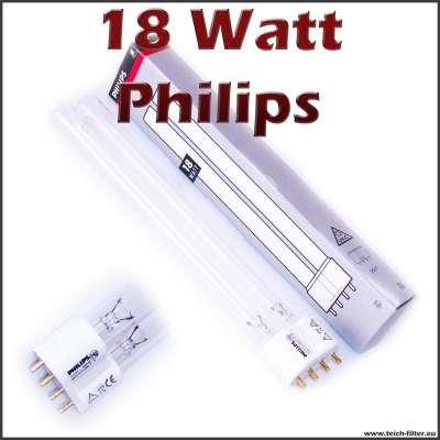 18 Watt UV Lampe Philips mit PLL Sockel gegen Algen