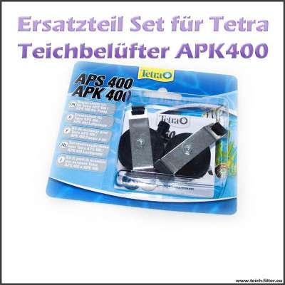 Ersatzteile im Set für Tetra Pond APK 400 Gartenteichbelüfter oder Luftpumpe