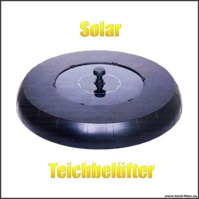 Teichbelüfter Solar für kleine Teiche zur Erzeugung von Sauerstoff