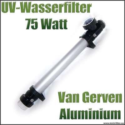 UV Wasserfilter von Van Gerven mit 75 Watt Leistung für Teichfilter gegen Algen