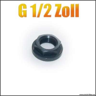 G 1/2 Zoll Mutter mit Innengewinde aus PVC Kunststoff