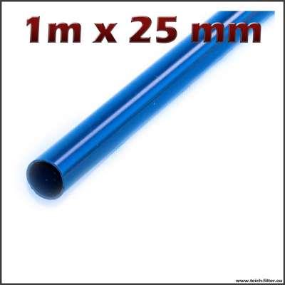 25 mm Rohr aus PVC mit 1 m Länge für Teichfilter