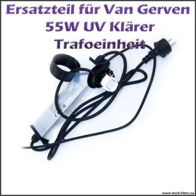 Van Gerven Trafo 55W PLL für UVC Klärer Koi Professional