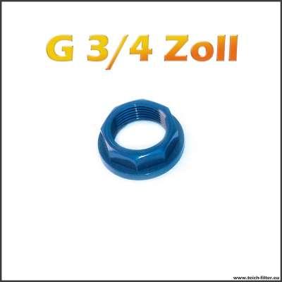 G 3/4 Zoll Mutter von VDL aus PVC Kunststoff