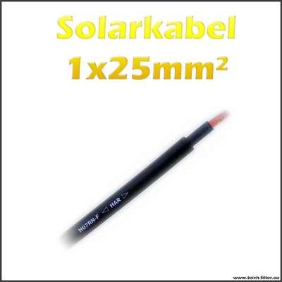 1x25mm² Kabel Lapp 1 adrig für 12V Solaranlagen und Batterien zum günstigen Preis im Shop kaufen