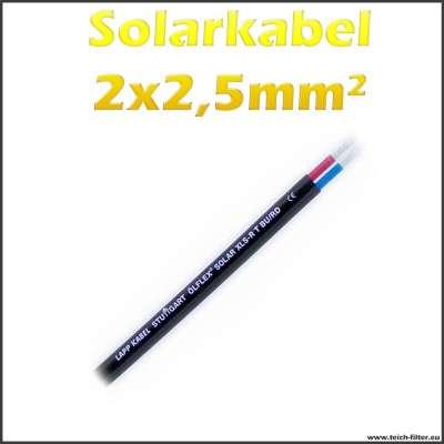 2x2,5mm² Kabel Ölflex Lapp 2 adrig für 12V Solaranlagen zum günstigen Preis im Shop kaufen