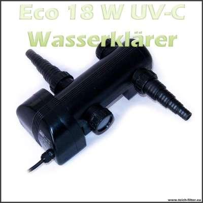 18 Watt UV-C Wasserklärer Eco für Teichfilter bis 5000 Liter