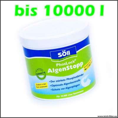 500 g Söll Phoslock für Teiche bis 10000 l Wasser