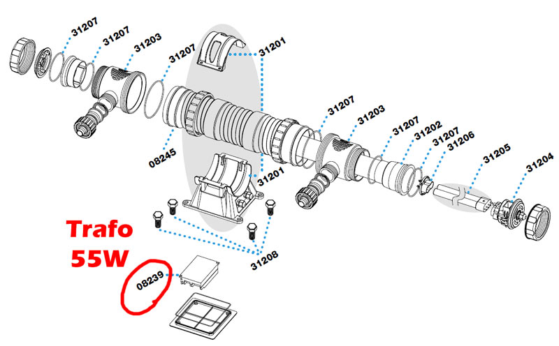 sera-pond-55w-uvc-system-trafo-ersatzteil-08239