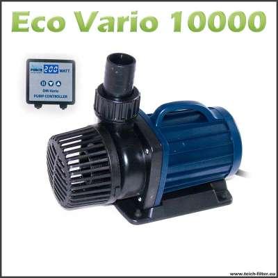 Regelbare Teichpumpe Eco DM Vario 10000 mit elektronischer Steuerung