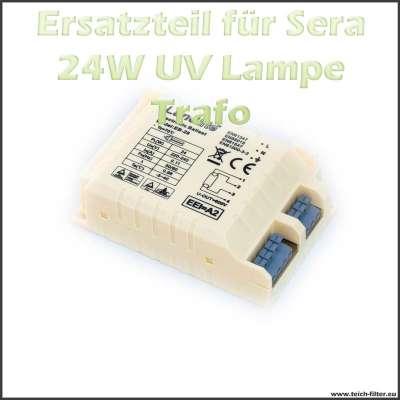 Ersatzteil 08237 Trafo als Vorschaltgerät für Sera 24 Watt UVC Klärer