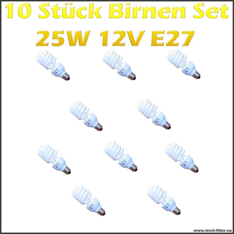 10 st ck set birnen 25w 12v e27 f r solaranlage g nstig kaufen. Black Bedroom Furniture Sets. Home Design Ideas