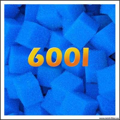 600 Liter Filterwürfel in grob für Teiche
