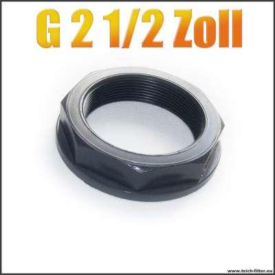 G 2 1/2 Zoll Mutter mit Innengewinde aus PVC Kunststoff