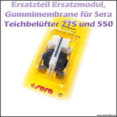 Ersatzteil 06732 Ersatzmodul als Gummimembrane für Sera Pond Air 275 und 550 R Plus Teichbelüfter (Luftpumpe)