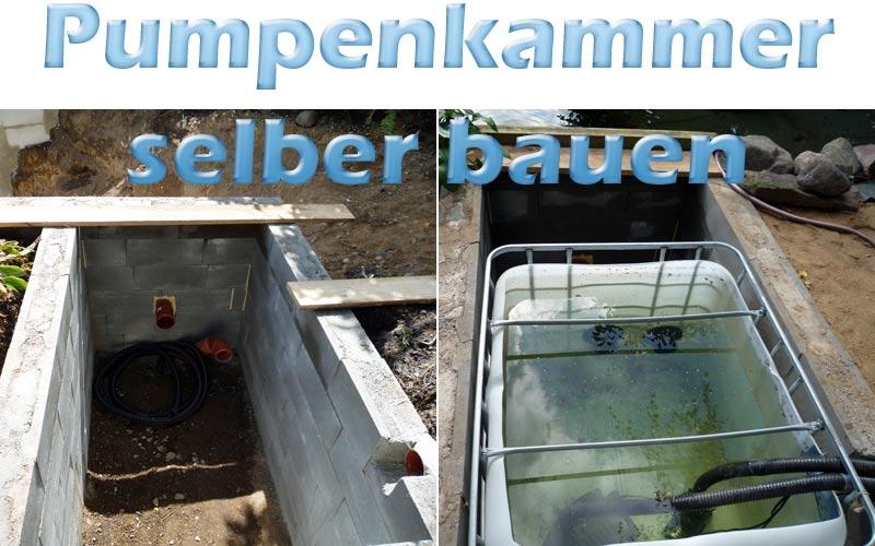 pumpenkammer-bauen