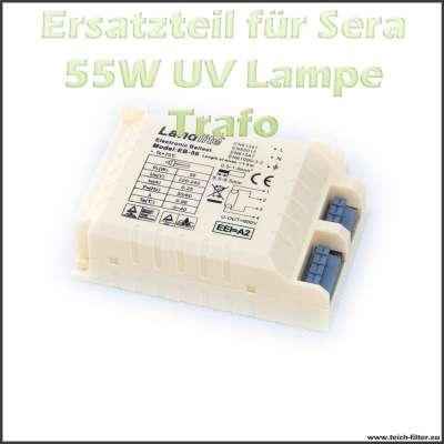 Ersatzteil 08239 Trafo 55 Watt für Sera UVC Klärer