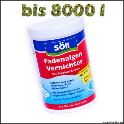 250 g Söll Fadenalgenvernichter für Teiche bis 8000 l Wasser
