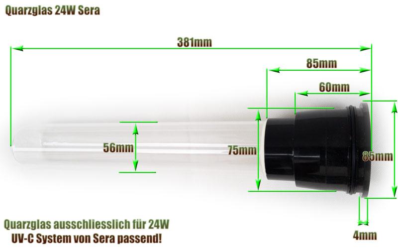 quarzglas-sera-pond-24w-uv-c-system-ersatz-abmessung-381mm-laenge-glasrohr