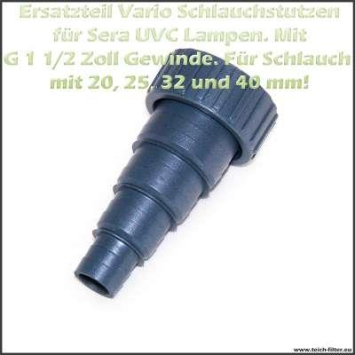 Sera Vario Schlauchstutzen 6.4 und 6.8 für UVC System 24 und 55 Watt