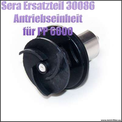 Antriebseinheit Propeller Ersatzteil 30086 für Sera Pond PP Precision 6000 Teichpumpe