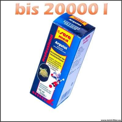 100 ml Sera Argulol gegen Fischparasiten bis 20000 l Wasser im Teich