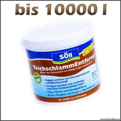 500 g Söll Teichschlamm Entferner bis 10000 l Teichwasser