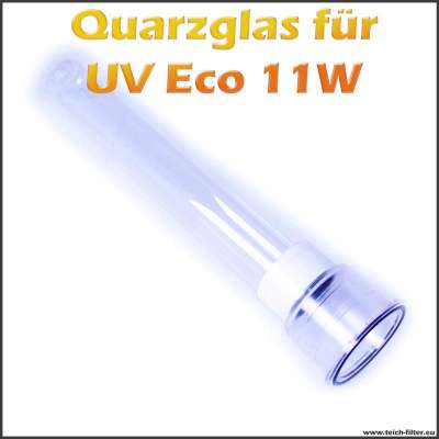 Quarzglas für Eco UV-C Wasserklärer mit 11W als Ersatz