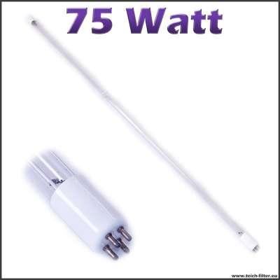 75 watt uv lampe t5 weiss. Black Bedroom Furniture Sets. Home Design Ideas