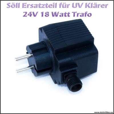 15257 Ersatz Trafo 18W 24V für Söll UV Klärer