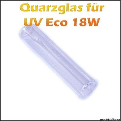 Quarzglas als Ersatzteil für Eco 18W UV-C Wasserklärer