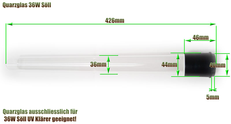 quarzglas-soell-36w-uv-klaerer-ersatz-abmessung-426mm-laenge-glasrohr