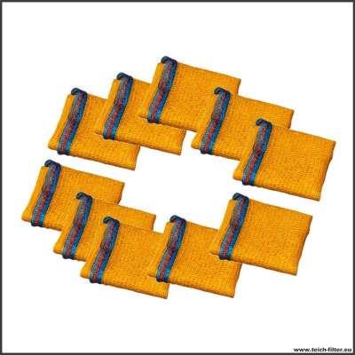 10 Stück Säcke für Filtermedien im Teichfilter