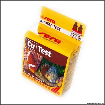 Sera Pond Cu Test Wassertest für Kupfer