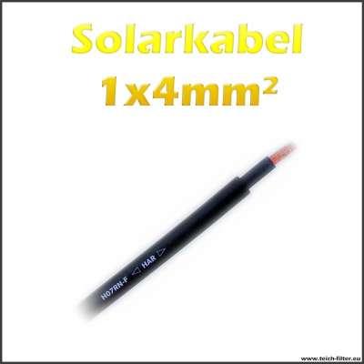 1x4mm² Kabel PV1-F Lapp 1 adrig für 12V Solaranlagen zum günstigen Preis im Shop kaufen