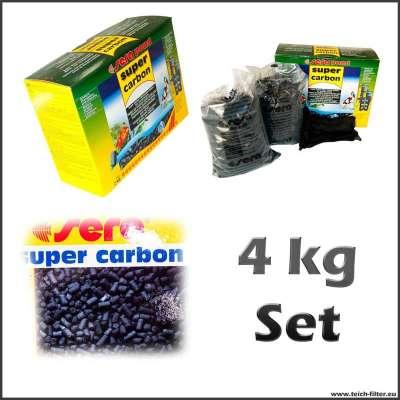 4 kg Aktivkohle als Pellets von Sera für Koiteich