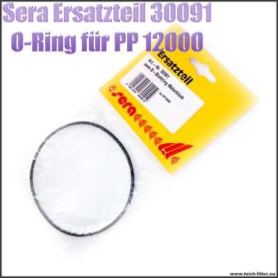 Sera Pond Ersatzteil 30091 schwarze O-Ring Dichtung 93x88x2,5mm für Motorblock bei PP Teichpumpe 12000