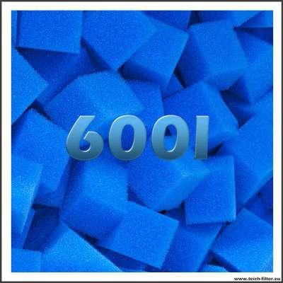 Feine Filterwürfel mit 600 Liter Volumen für Teich